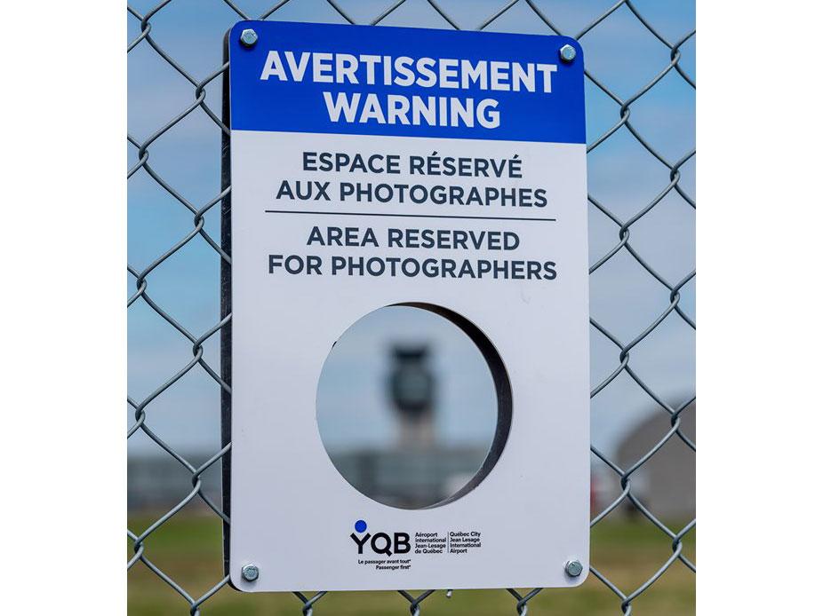 Αεροδρόμιο στον Καναδά δημιούργησε ειδικές θέσεις για φωτογράφους που βγάζουν αεροπλάνα