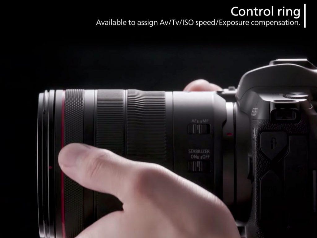 Canon: Ανακοίνωσε υπηρεσία μετατροπής φακών για αφαίρεση του κλικ στο Control Ring