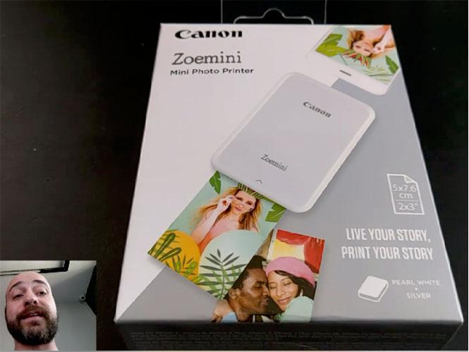 Μεγάλος διαγωνισμός pttlgr και Canon! Κέρδισε τον μίνι εκτυπωτή Canon Zoemini!
