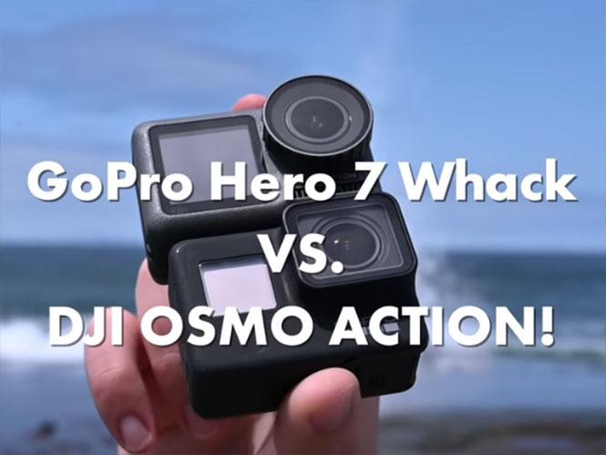 Τα πρώτα συγκριτικά τεστ ανάμεσα σε DJI Osmo Action και GoPro Hero7 Black