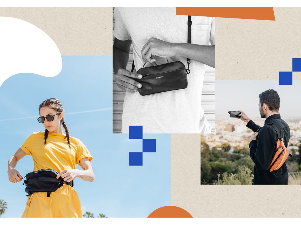 H Moment παρουσιάζει σειρά τσαντών και θηκών για όσους βγάζουν φωτογραφίες με το smartphone τους