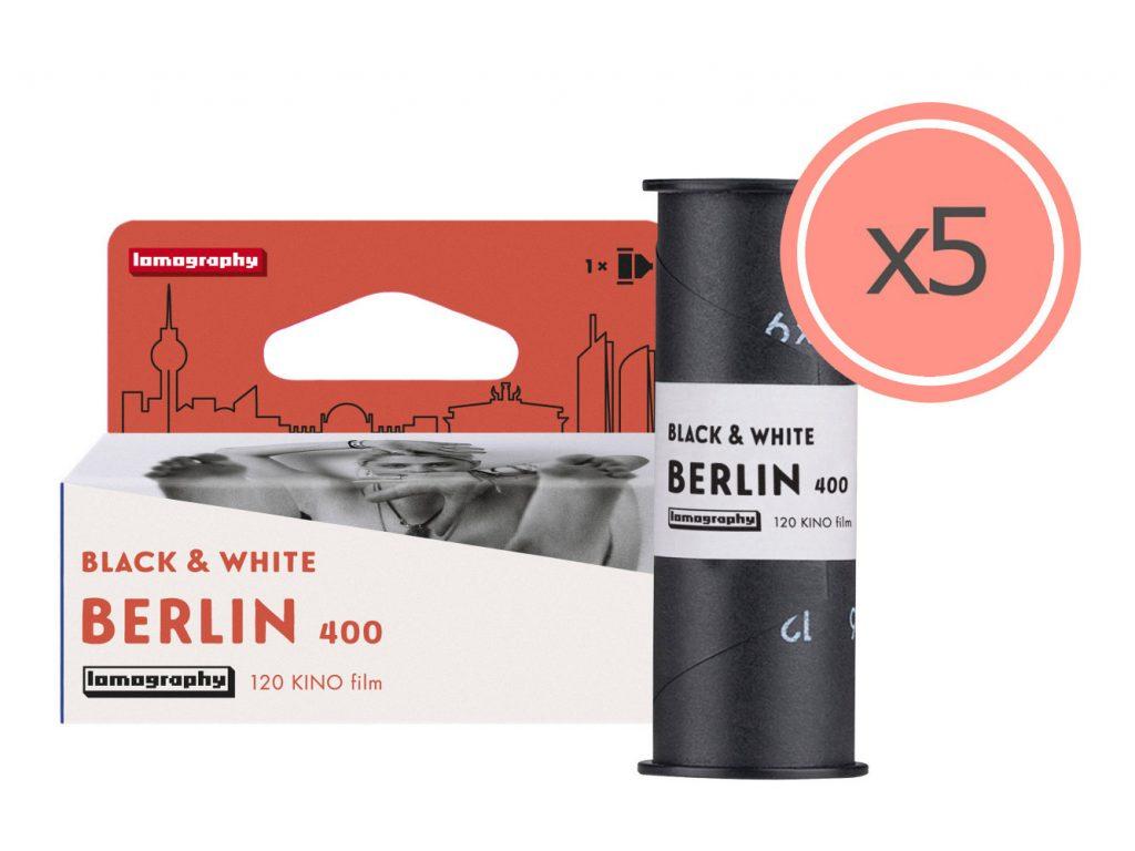 Berlin Kino B&W 120 ISO 400: Νέο ασπρόμαυρο φιλμ μεσαίου φορμά