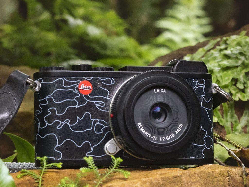 """Νέα ειδική έκδοση Leica CL """"URBAN JUNGLE by JEAN PIGOZZI"""""""