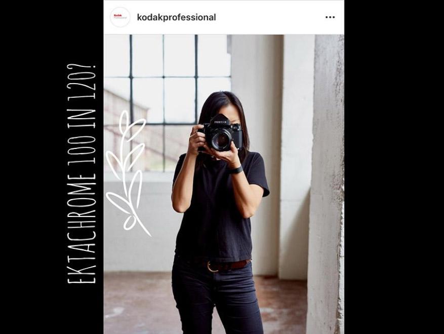 Η Kodak ετοιμάζεται να φέρει στην αγορά το φιλμ μεσαίου φορμά Kodak Ektachrome E100 120