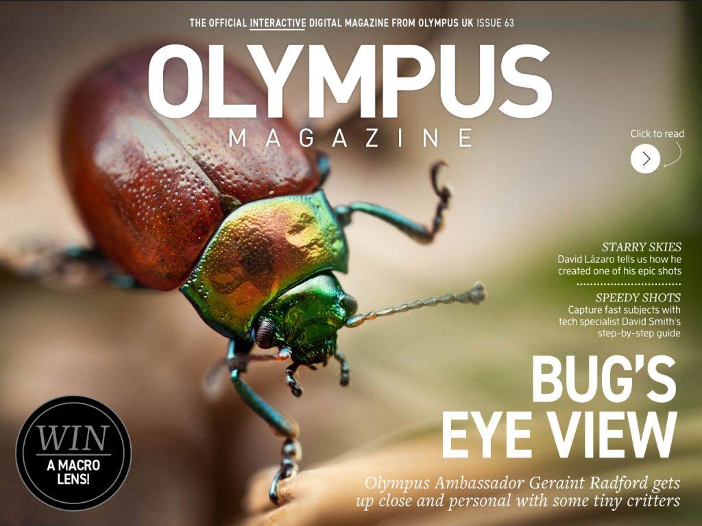 Νέο τεύχος του δωρεάν ψηφιακού περιοδικού Olympus Magazine