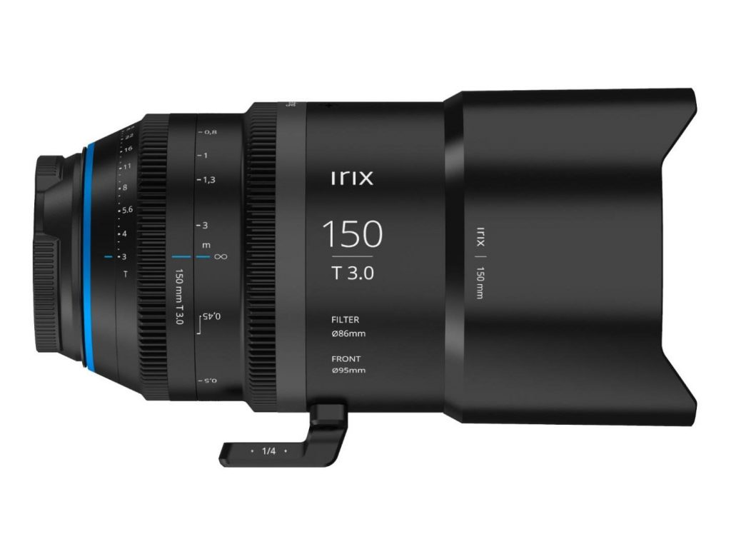 Irix Cine 150mm T3.0 Macro: Αυτός είναι ο πρώτος κινηματογραφικός φακός της Irix
