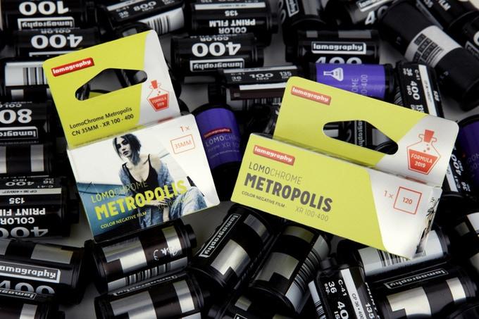LomoChrome Metropolis: Νέο έγχρωμο φιλμάκι με νέα emulsion
