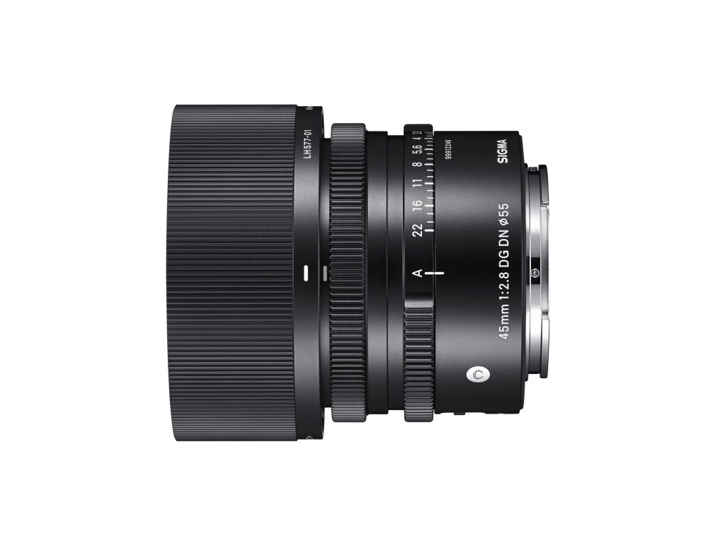 Παρουσιάστηκε ο νέος SIGMA 45mm F2.8 DG DN Contemporary
