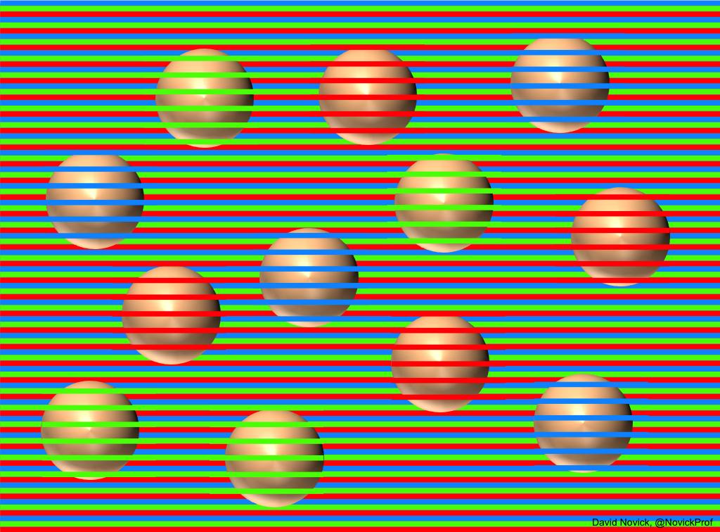 Μπορείτε να μαντέψετε το χρώμα που έχουν οι σφαίρες και πόσων ειδών διαφορετικές χρωματικά σφαίρες έχουμε;