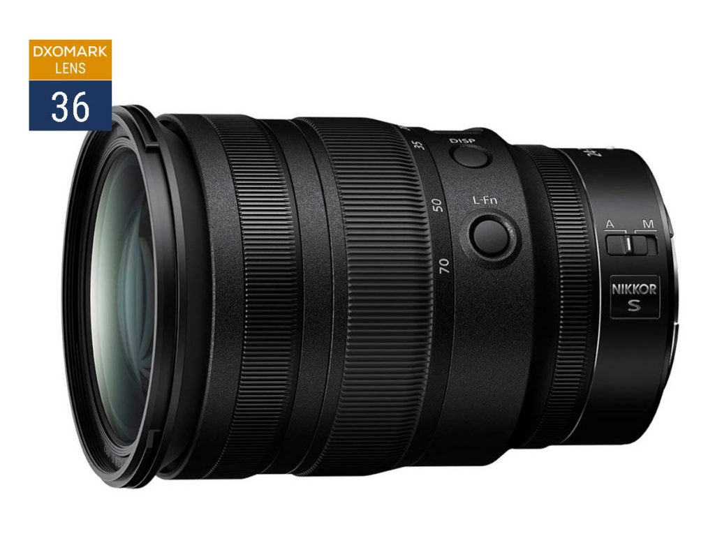 DxOMark: O νέος Nikon Z 24-70mm f/2.8 S είναι ο καλύτερος 24-70 που έχουμε δοκιμάσει
