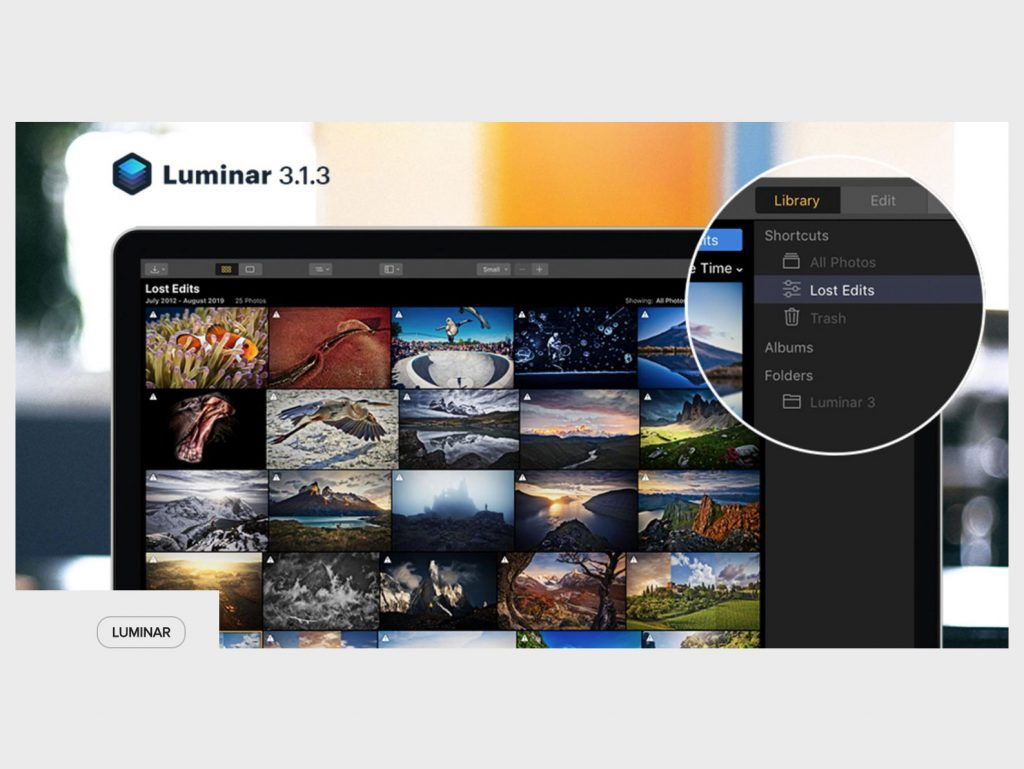 Αναβάθμιση 3.1.3 για το Luminar