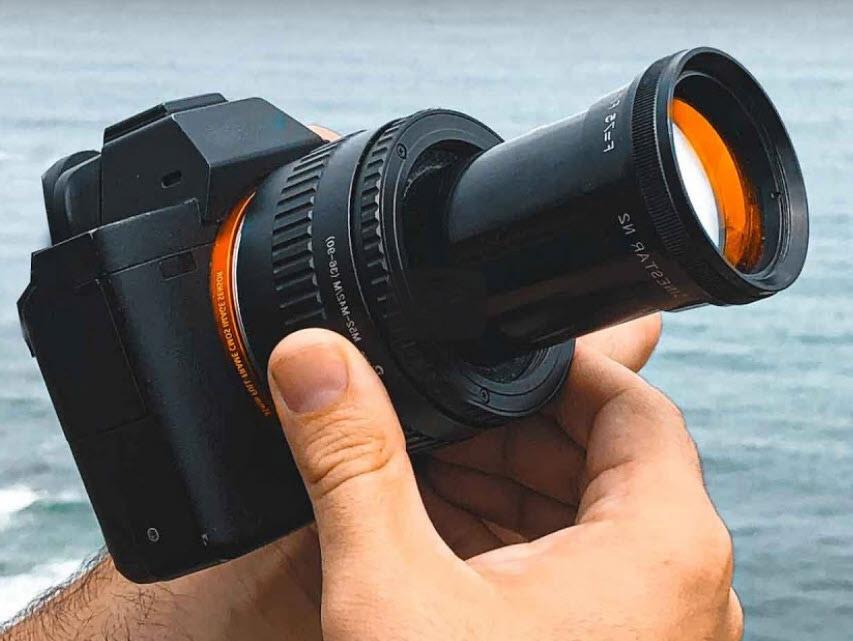 Αυτός ο περίεργος φακός από κινηματογραφικό projector δίνει ένα μοναδικό bokeh!