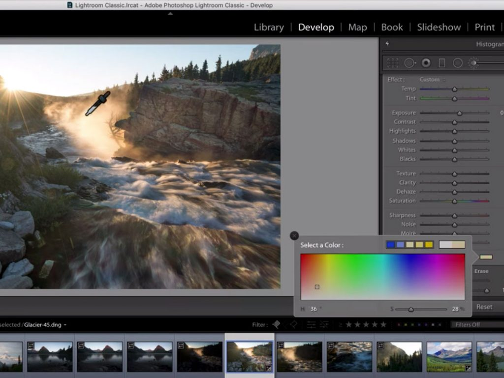 Photoshop και Lightroom: Δείτε πως μπορείτε να επιλέξετε ένα χρώμα από οποιοδήποτε σημείο της επιφάνειας εργασίας