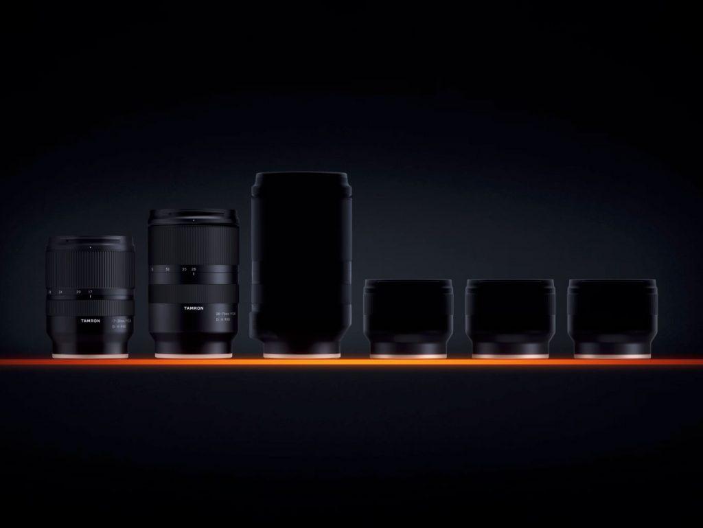 Διέρρευσαν οι φωτογραφίες των τεσσάρων Tamron φακών για Sony E-mount