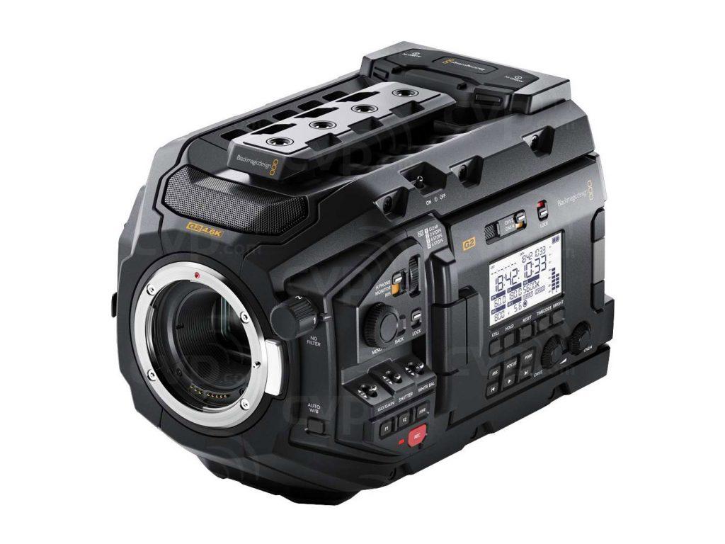 Αναβάθμιση για την Blackmagic URSA Mini Pro G2