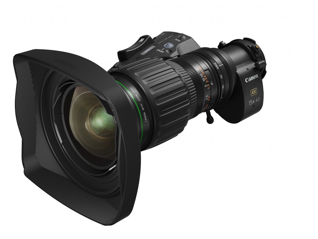 Νέος τηλεοπτικός φακός Canon CJ15ex4.3B