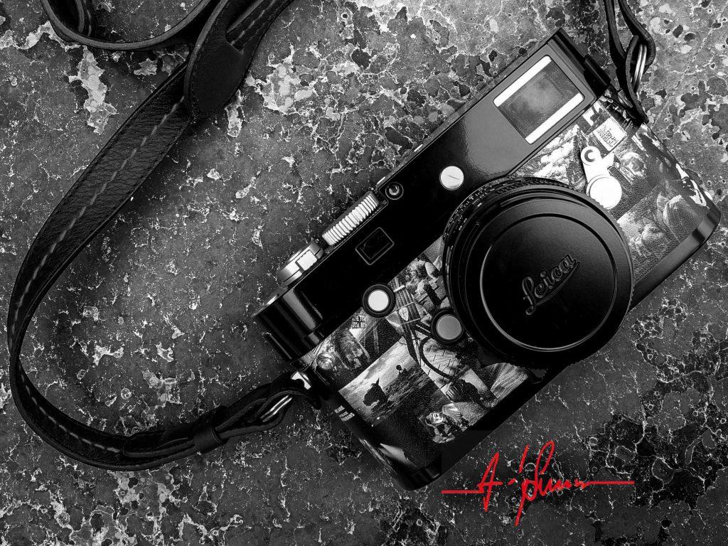 Αυτή είναι η Leica M Monochrom by Andy Summers και κοστίζει 15.000 δολάρια