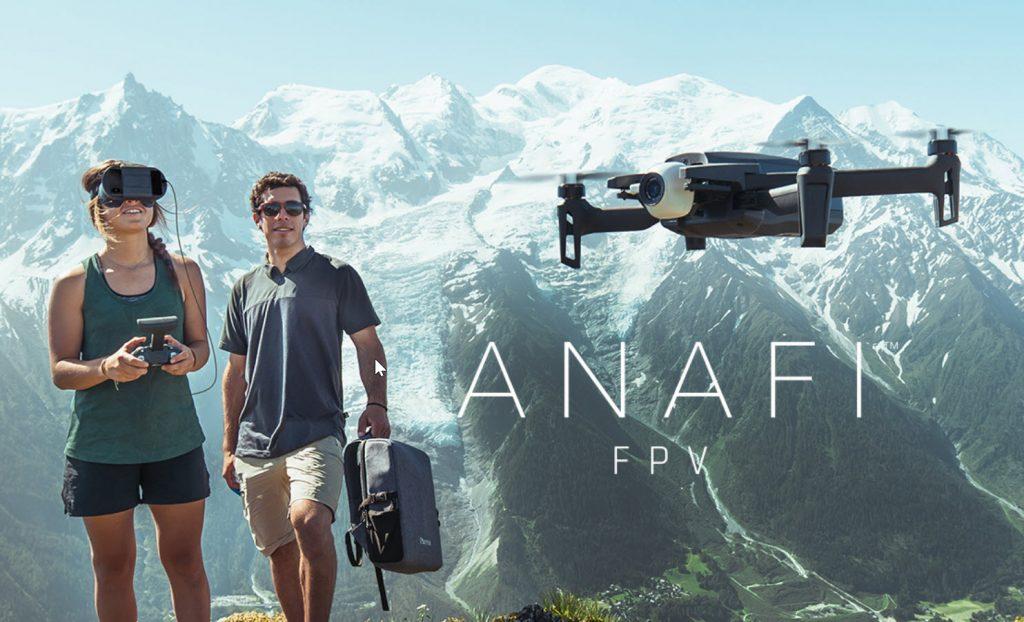 H Parrot ανακοίνωσε το νέο ANAFI FPV, ένα foldable drone με 4Κ HDR video