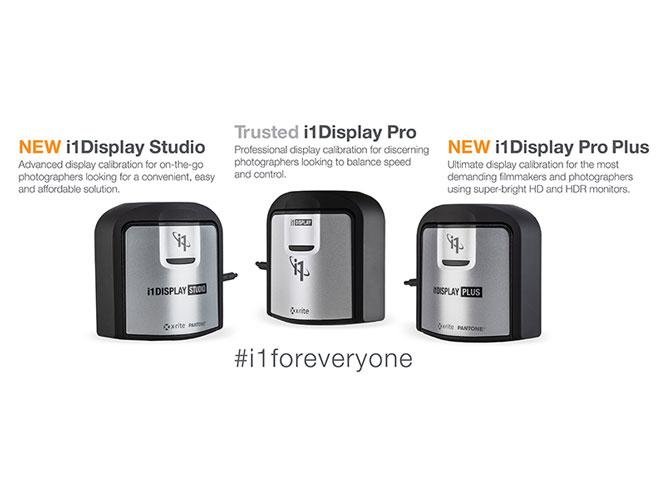 Νέα συστήματα color calibration i1Display Studio και Pro Plus από την X-Rite