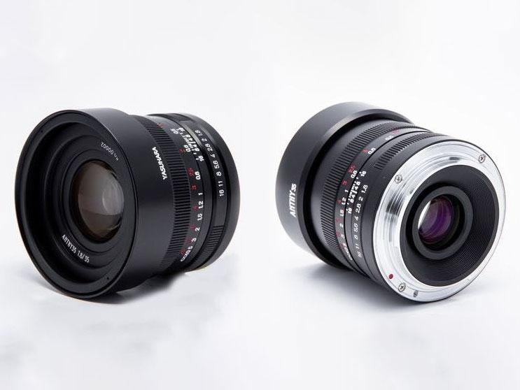 Νέος Full Frame φακός Yasuhara Anthy 35mm F/1.8 για mirrorless συστήματα Canon RF, Nikon Z και Sony E