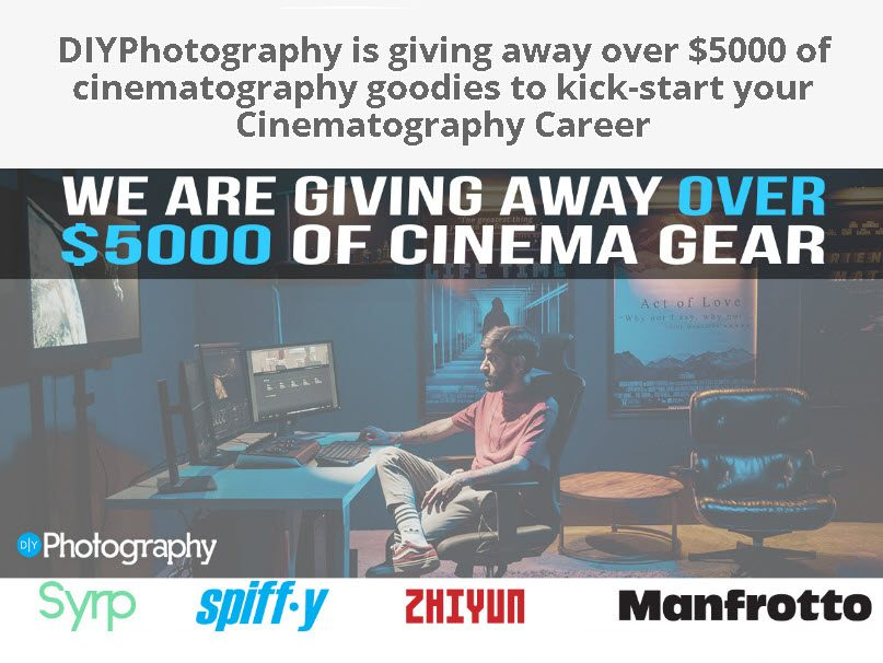 DIYPhotography: Κληρώνει εξοπλισμό βίντεο αξίας 5.000 δολαρίων