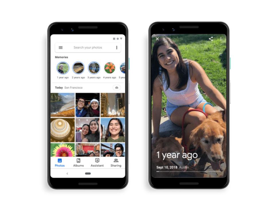 Η Google προσθέτει στο Google Photos τη λειτουργία Memories
