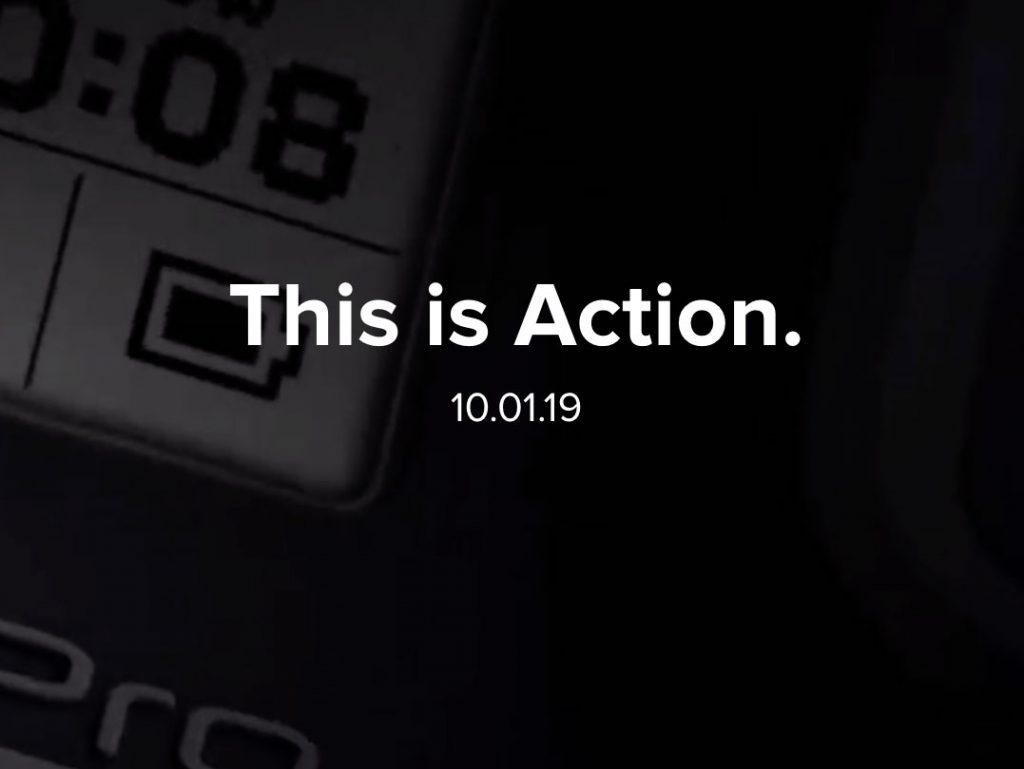 Επίσημο Teaser, στις 1 Οκτωβρίου η ανακοίνωση των GoPro Hero8 και Max