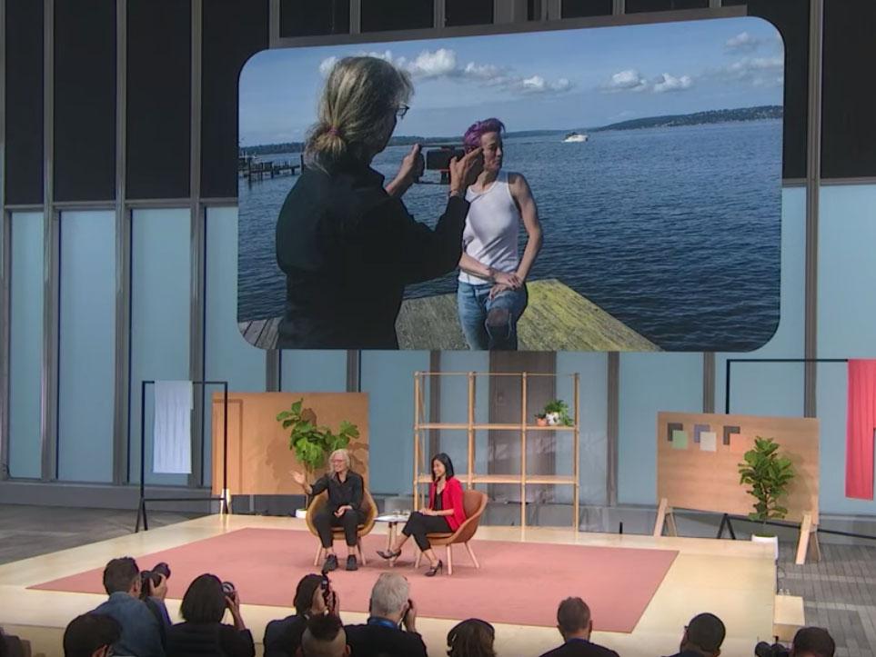 H Annie Leibovitz φωτογραφίζει με το νέο Google Pixel 4