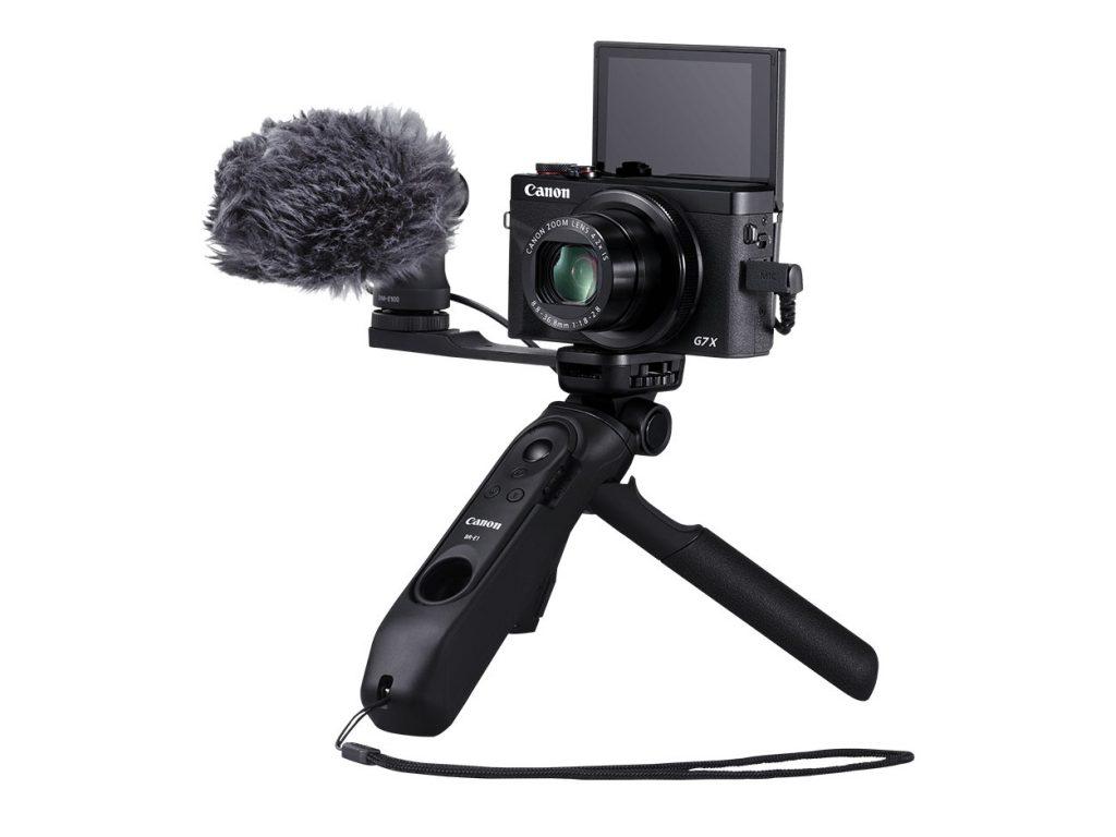 Canon: Νέο τριπόδι-grip και μικρόφωνο για vloggers και βιντεογράφους