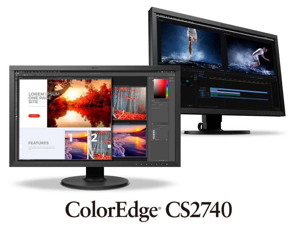 EIZO 4K ColorEdge CS2740: Νέα επαγγελματική οθόνη με USB-C και υποστήριξη 10-bit