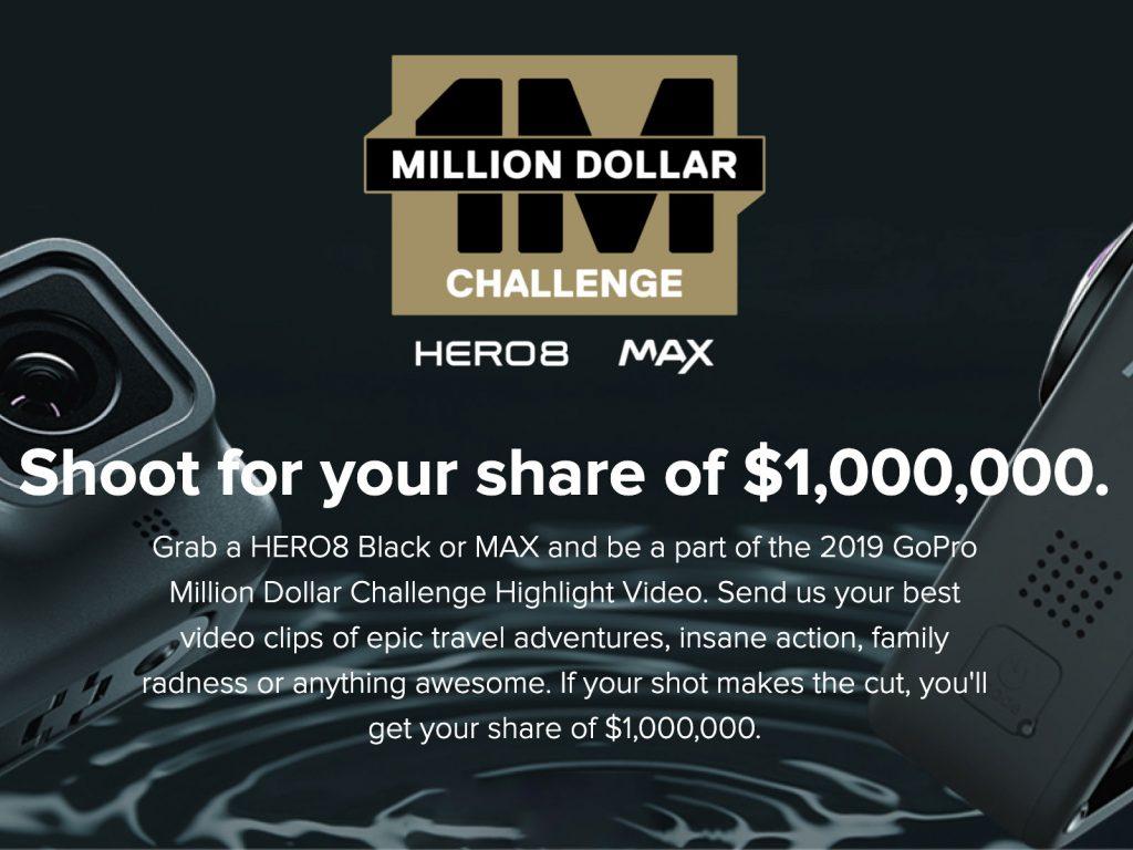 GoPro Million Dollar Challenge: Αυτοί είναι οι  45 δημιουργοί που θα μοιραστούν 1 εκατομμύριο δολάρια, από 22.222 δολάρια!