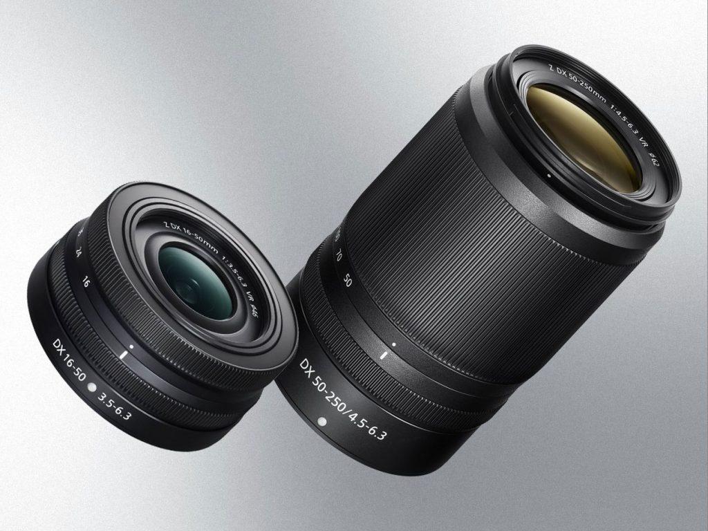 Nikkor Z DX 16-50mm f/3.5-6.3 VR και Nikkor Z DX 50-250mm f/4.5-6.3 VR: Οι πρώτοι DX φακοί του συστήματος Z