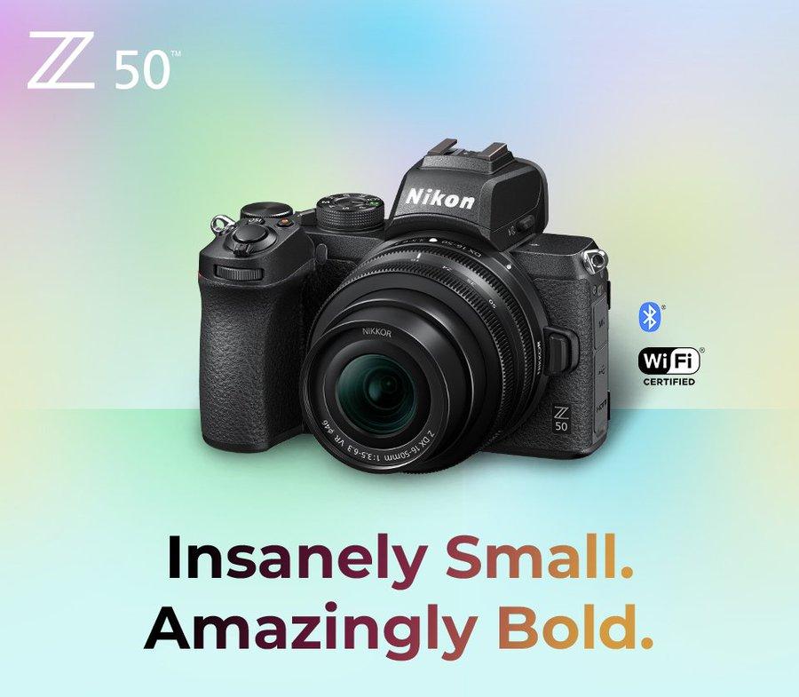 Περισσότερες φωτογραφίες της νέας Nikon Z 50