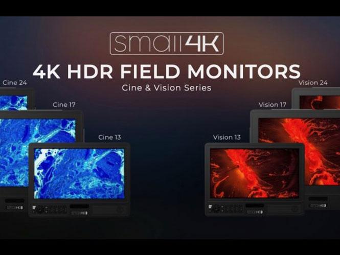 Η SmallHD παρουσίασε τις νέες σειρές φορητών οθόνων Cine και Vision με ανάλυση 4K HDR
