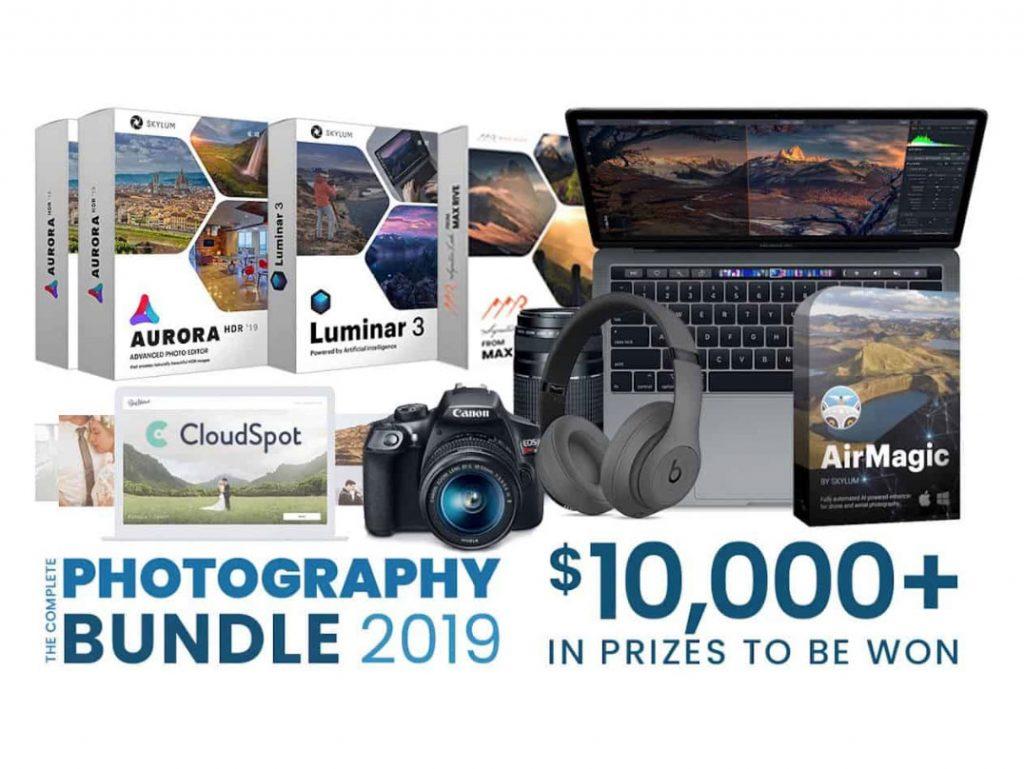Κλήρωση για φωτογραφικό εξοπλισμό 10.000 δολαρίων, όλοι οι συμμετέχοντες παίρνουν το Skylum AirMagic