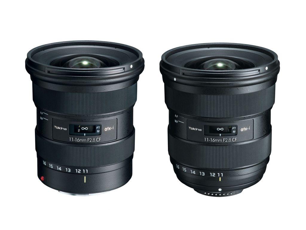 Ανακοινώθηκε ο νέος υπερευρυγώνιος φακός Tokina atx-i 11-16mm F2.8 CF