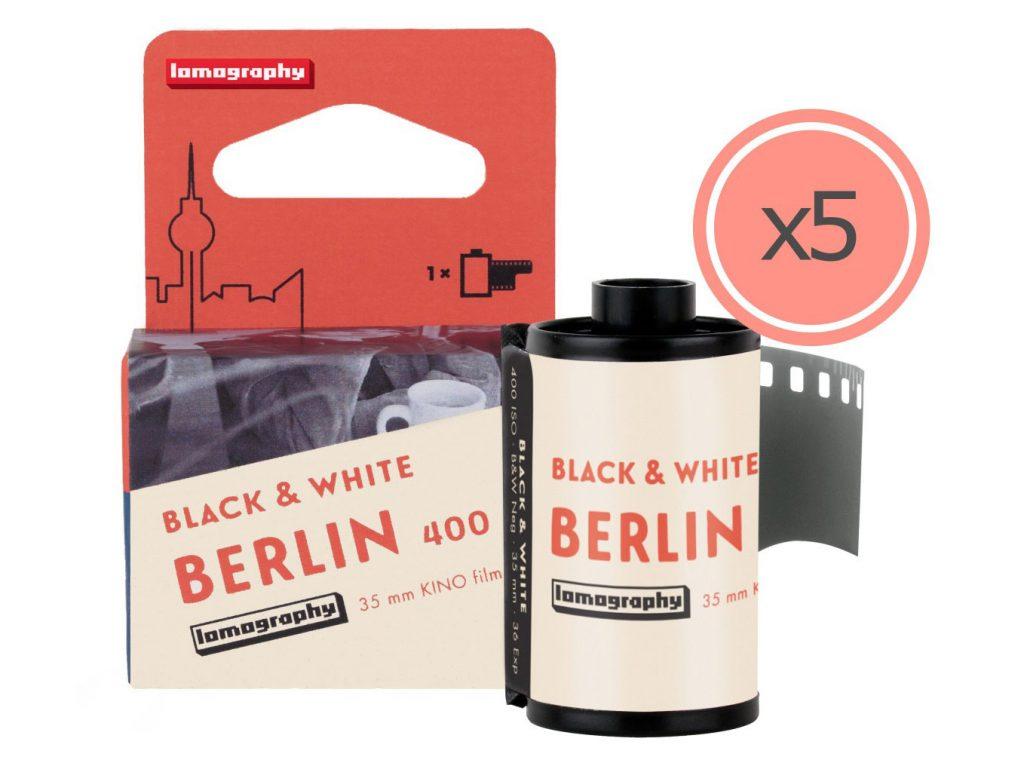 Lomography: Παρουσιάζει την νέα έκδοση  του ασπρόμαυρου φιλμ της Berlin Kino