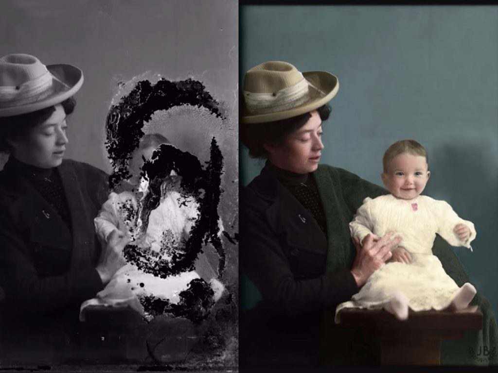 Δείτε πως επιδιορθώνεται και επιχρωματίζεται μία παλιά φωτογραφία με το Photoshop