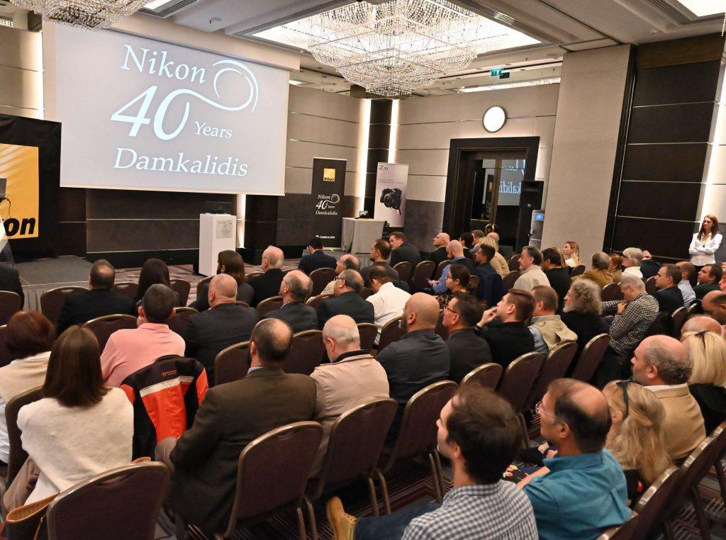 Nikon και Δαμκαλίδης γιόρτασαν 40 χρόνια συνεργασίας
