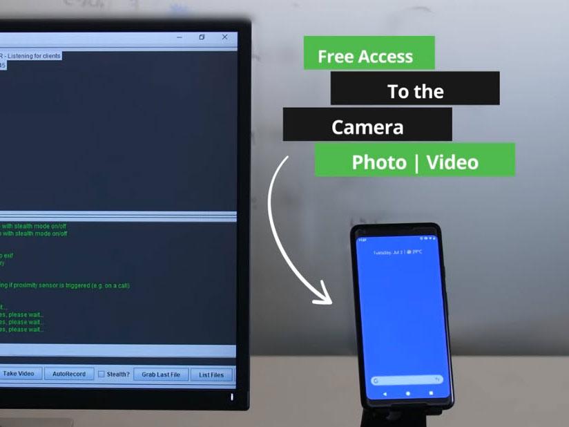 Βίντεο δείχνει πως μπορεί κάποιος να χακάρει το smartphone σας και να έχει αθόρυβα τον έλεγχο της κάμερας του