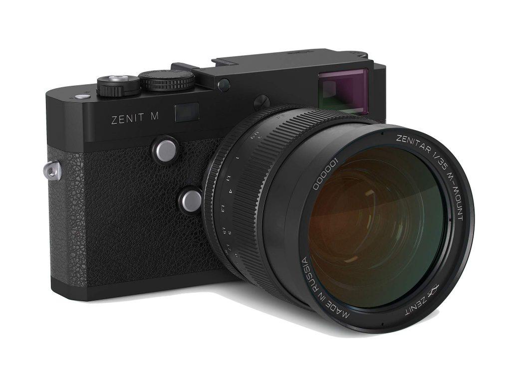 Η Zenit Μ, το αντίγραφο της Leica Μ, έχει τιμή 6.500 ευρώ