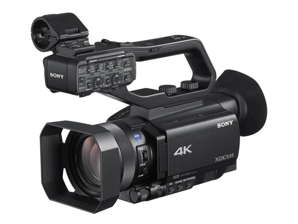 Νέο Firmware για τις επαγγελματικές κάμερες Sony HXR-NX80 και PXW-Z90