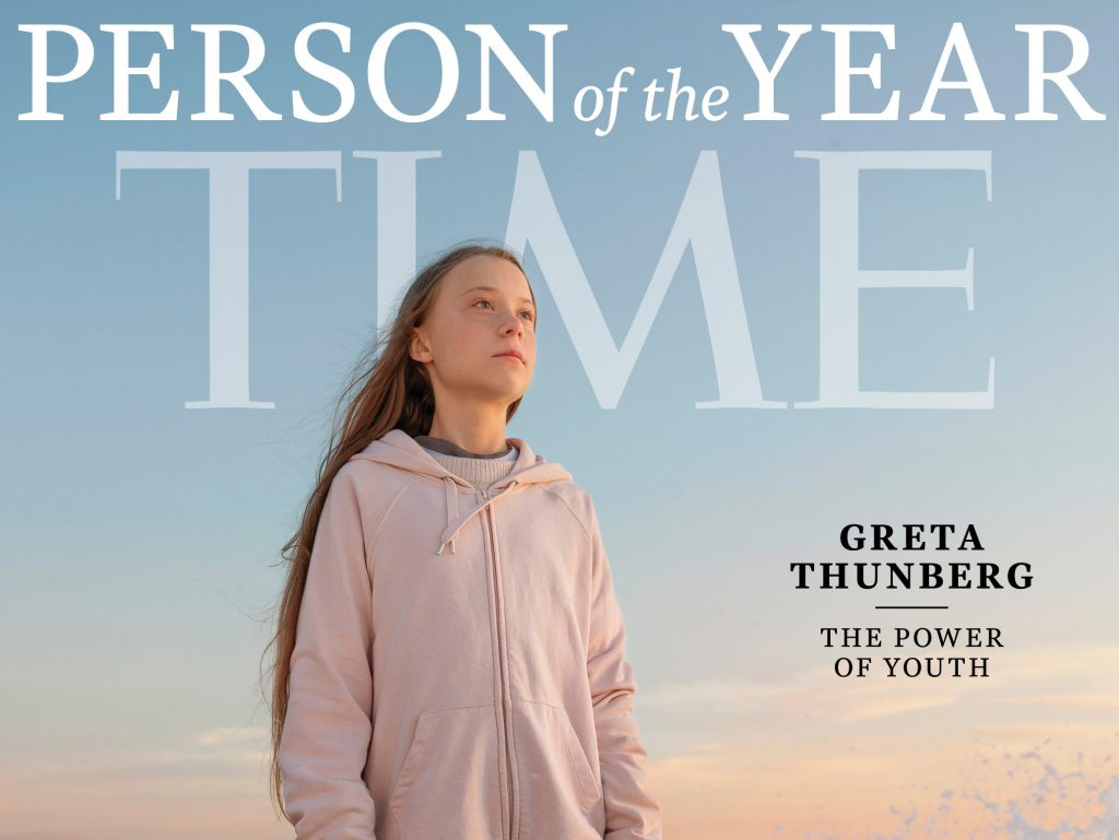 Time: Στα παρασκήνια φωτογράφισης της Greta Thunberg, Person of the Year 2019