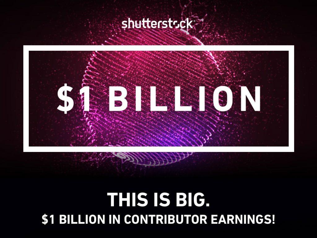 Το 1 δισεκατομμύριο δολάρια έφτασαν τα έσοδα όσων ανεβάζουν υλικό προς πώληση στο Shutterstock