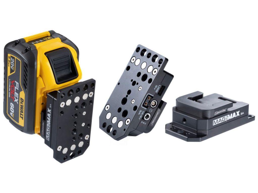 Kessler Mag Max 3A: Adapter για να χρησιμοποιείτε στην κάμερα σας μπαταρίες από ηλεκτρικά εργαλεία