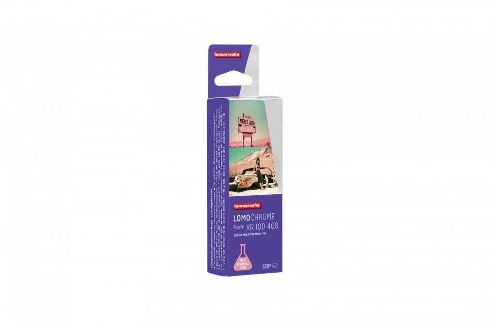 Διαθέσιμο το φιλμ LomoChrome Purple XR 100-400 σε 110 Format!