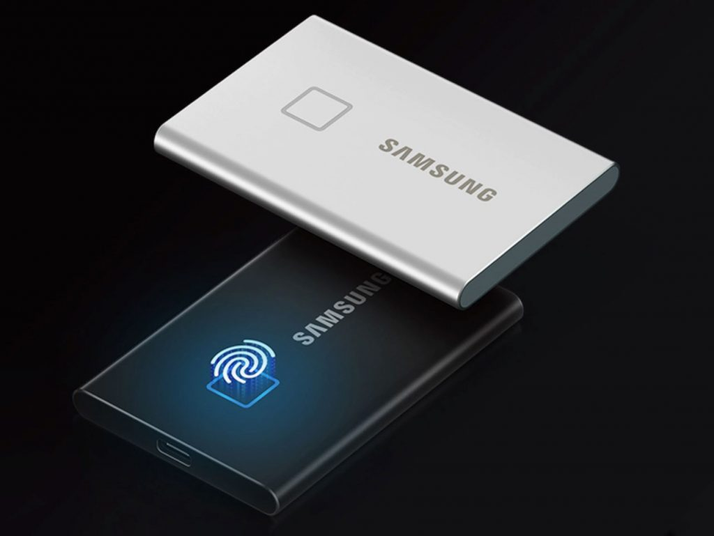 Samsung T7: Νέος φορητός SSD, ανθεκτικός και με σαρωτή αποτυπωμάτων!