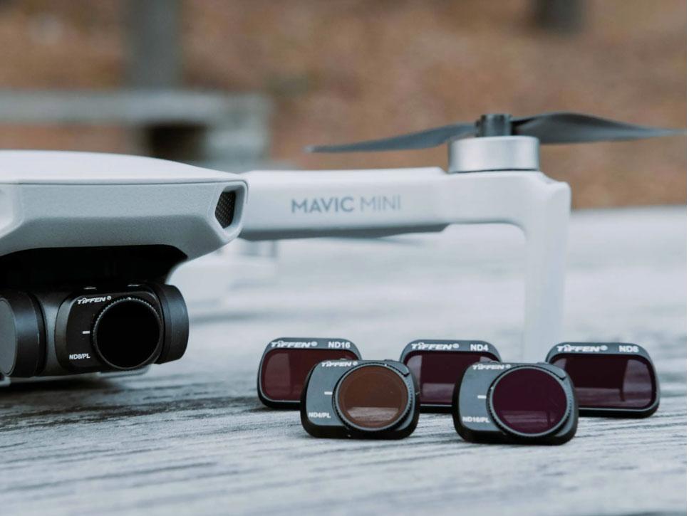 H Tiffen παρουσιάζει τα νέα της φίλτρα για το DJI Mavic Mini