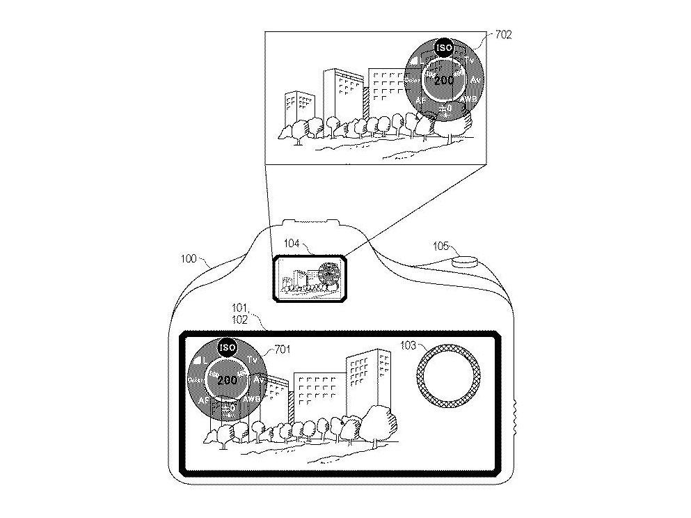 Canon: Πατέντα δείχνει κάμερα χωρίς χειριστήρια και με τεράστια οθόνη αφής