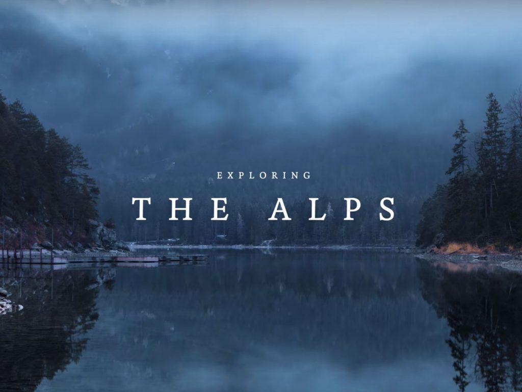 Exploring the Alps: Time Lapse από τις Άλπεις, το οποίο χρειάστηκε 50.000 φωτογραφίες και ταξίδι 5.000 χιλιομέτρων